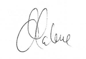 underskrift