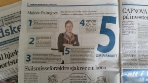 Dagbladet Nordvestnyt 1.maj 14